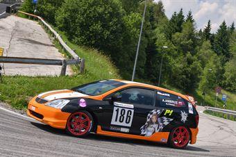 Ambruz Anna ( Ambruz Racing,, Honda Civic Type R #186), CAMPIONATO ITALIANO VELOCITÀ MONTAGNA