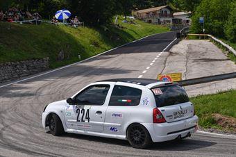 Andrea Steffan (Funny team, Renault clio RS Cup #224), CAMPIONATO ITALIANO VELOCITÀ MONTAGNA