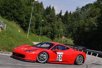 Cristea Horatiu Ionescu ( Ferrari 458 Challenge #55), CAMPIONATO ITALIANO VELOCITÀ MONTAGNA