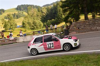 Cavazzuti Matteo ( Pintarally Motorsport, Citroen Saxo VTS #123), CAMPIONATO ITALIANO VELOCITÀ MONTAGNA