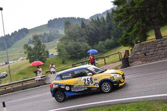 Morelli Gabriele ( Pintarally Motorsport, Suzuki Swift 1.0 Boosterjet #258), CAMPIONATO ITALIANO VELOCITÀ MONTAGNA