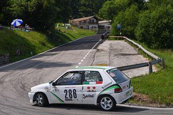 Martucci Angelo ( Gretaracing, peugeot 106 #286), CAMPIONATO ITALIANO VELOCITÀ MONTAGNA