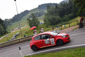 Giuseppe Andolina (Alex Group, Renault clio RS #278), CAMPIONATO ITALIANO VELOCITÀ MONTAGNA