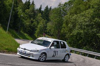 Cappello Francesco (Xmotors, Peugeot 106 #281), CAMPIONATO ITALIANO VELOCITÀ MONTAGNA