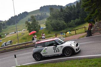 Agostino Scaffidi (CST Sport, Mini Cooper S JCW #255), CAMPIONATO ITALIANO VELOCITÀ MONTAGNA