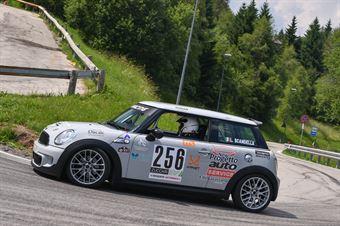 Luciano Scandella (Winners Rally Team, Mini Cooper JWC #256), CAMPIONATO ITALIANO VELOCITÀ MONTAGNA