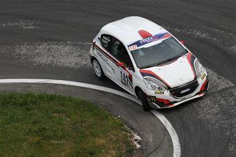 Guaita Nicholas ( Pintarally Motorsport, Peugeot 208 #142), CAMPIONATO ITALIANO VELOCITÀ MONTAGNA