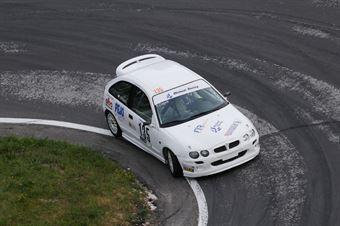 Dapra` Roberto ( Mg Mg Zr 160 Micheal Racing #135), CAMPIONATO ITALIANO VELOCITÀ MONTAGNA