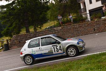Nardelli Graziano ( Peugeot 106 Gti S16 16V, Pintarally Motorsport #154), CAMPIONATO ITALIANO VELOCITÀ MONTAGNA