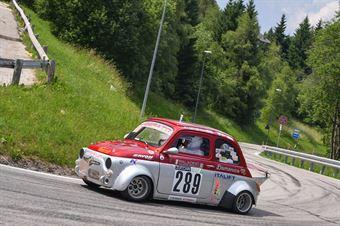Mascolo Domenico ((Fiat 500, Sport favale 07 #289), CAMPIONATO ITALIANO VELOCITÀ MONTAGNA