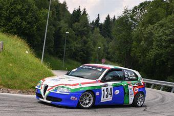 David DEDEK ( Nutrend Accr Racing Team, Alfa 147 #134), CAMPIONATO ITALIANO VELOCITÀ MONTAGNA