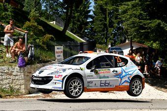 Rudy Andriolo, Manuel Menegon (Peugeot 207 S2000 #25, La Superba), CAMPIONATO ITALIANO WRC