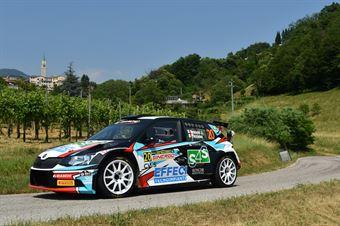 Jordan Brocchi, Fabrizio Piccinini (Skoda Fabia R5 #20, Winners Rally Team), CAMPIONATO ITALIANO WRC