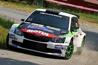 Andrea Carella, Enrico Bracchi (Skoda Fabia R5 #10, MS Munaretto), CAMPIONATO ITALIANO WRC