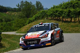 Corrado Fontana, Nicola Arena (Hyundai i20 WRC #4, Bluthunder), CAMPIONATO ITALIANO WRC