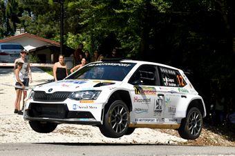 Matteo Dapra, Fabio Andrian (Skoda Fabia R5 #12, GDA Communication), CAMPIONATO ITALIANO WRC