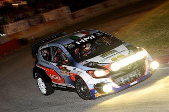 Luigi Fontana, Giovanni Agnese (Hyundai i20 WRC #7, Bluthunder), CAMPIONATO ITALIANO WRC