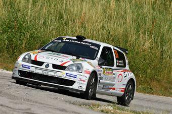 Gianmarco Lovisetto, Ivan Gasparotto (Renault Clio S1600 #30, Monselice Corse), CAMPIONATO ITALIANO WRC