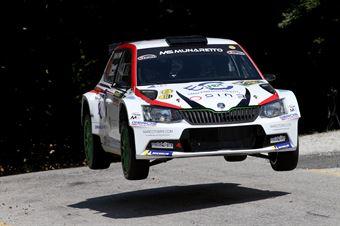 Paolo Menegatti, Christian Cracco (Skoda Fabia R5 #14, MS Munaretto), CAMPIONATO ITALIANO WRC