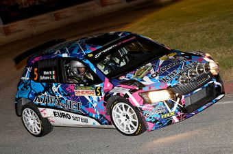 Mauro Miele, Luca Beltrame (Skoda Fabia R5 #5, Giesse Promotion), CAMPIONATO ITALIANO WRC