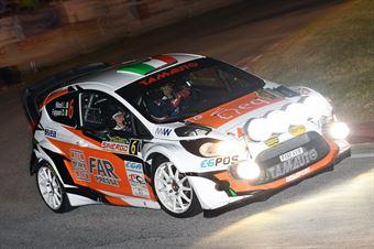 Gianluigi Niboli, Danilo Fappani (Ford Fiesta WRC #6, BS Sport), CAMPIONATO ITALIANO WRC