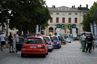 Cerimonia di Partenza, CAMPIONATO ITALIANO WRC