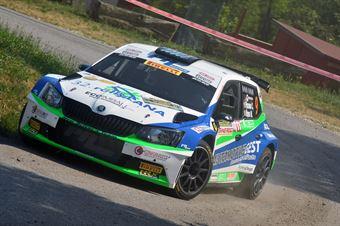 Corrado Pinzano, Marco Zegna (Skoda Fabia R5 #9, New Driver's Team), CAMPIONATO ITALIANO WRC