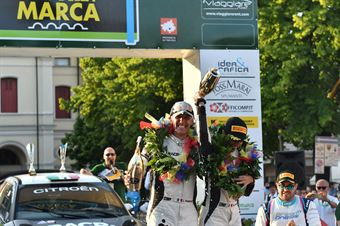 Cerimonia di Premiazione, CAMPIONATO ITALIANO WRC