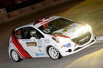 Gianluca Saresera, Manuel Fenoli (Peugeot 208R2 #42, Leonessa Corse), CAMPIONATO ITALIANO WRC