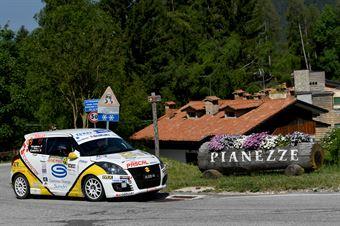 Andrea Scalzotto, Nicola Rutigliano (Suzuki Swift R1 #99, Funny Team), CAMPIONATO ITALIANO WRC