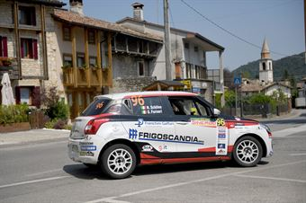 Nicola Schileo, Gianguido Furnari (Suzuki Swift R1 #96, Winners Rally Team), CAMPIONATO ITALIANO WRC