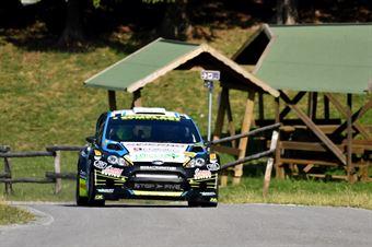 Marco Signor, Patrick Bernardi (Ford Fiesta WRC #2, Sama Racing), CAMPIONATO ITALIANO WRC