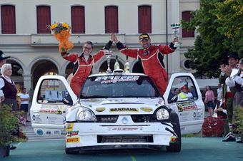 Roberto Vescovi, Giancarla Guzzi (Renault Clio S1600 #29, GR Motorsport), CAMPIONATO ITALIANO WRC