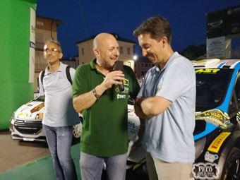Corrado Fontana; Nicola Arena (Hyundai i20 WRC #4 Bluthunder), CAMPIONATO ITALIANO WRC