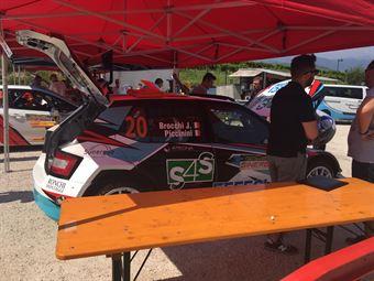 Parco Assistenza   Valdobbiadene Day1   Brocchi Piccinini (Skoda Fabia R5), CAMPIONATO ITALIANO WRC
