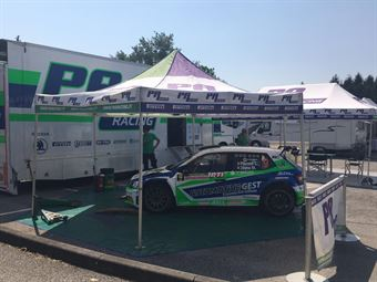 Parco Assistenza   Valdobbiadene Day1   Pinzano Zegna (Skoda Fabia R5), CAMPIONATO ITALIANO WRC