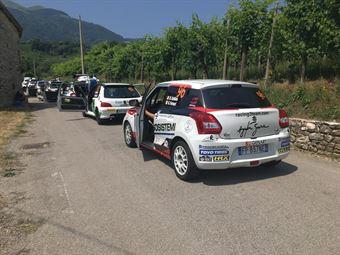 Simone Goldoni; Flavio Garella (Suzuki Swift R1, #93 Nordovest Racing), CAMPIONATO ITALIANO WRC