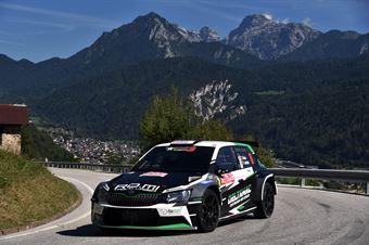 Efrem Bianco; Dino Lamonato (Skoda Fabia R5 #16), CAMPIONATO ITALIANO WRC