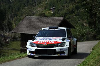 Andrea Carella, Enrico Bracchi (Skoda Fabia R5 #15, MS Munaretto), CAMPIONATO ITALIANO WRC