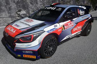 Corrado Fontana; Nicola Arena (Hyundai i20 WRC #5 Bluthunder), CAMPIONATO ITALIANO WRC