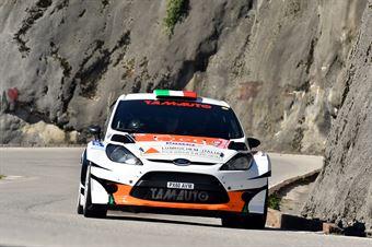 Luigi Niboli, Danilo Fappani (Ford Fiesta WRC #10, Mirabella Mille Miglia), CAMPIONATO ITALIANO WRC