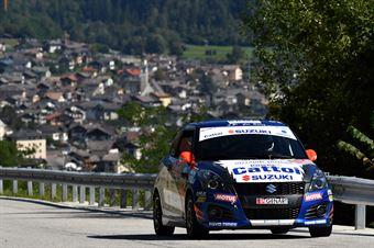 Roberto Pelle, Giulia Luraschi (Suzuki Swift R1 #84, Destra 4), CAMPIONATO ITALIANO WRC