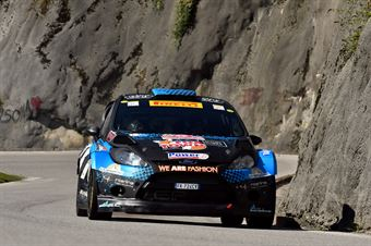 Paolo Porro, Paolo Cargnelutti (Ford Fiesta WRC #8, Bluthunder), CAMPIONATO ITALIANO WRC