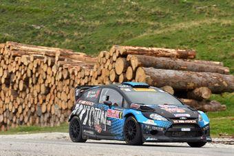 Paolo Porro, Paolo Cargnelutti (Ford Fiesta WRC #8, Bluthunder) , CAMPIONATO ITALIANO WRC