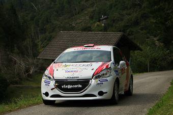 Gianluca Saresera, Manuel Fenoli (Peugeot 208R2 #47, Leonessa Corse), CAMPIONATO ITALIANO WRC