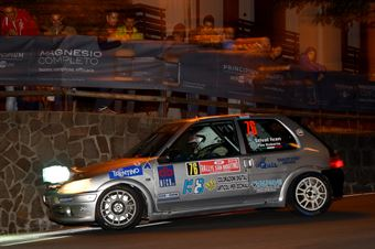 Ivano Stival, Roberto Pais De Libera (Peugeot 106 A6 #76 BL Rally Racing), CAMPIONATO ITALIANO WRC
