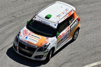 Stefano Strabello, Paolo Scardoni (Suzuki Swift R1 #90, Destra 4) , CAMPIONATO ITALIANO WRC