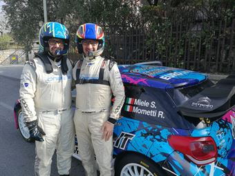 Simone Miele, Roberto Mometti (Citroe DS3 Wrc #2 Giesse Promotion), CAMPIONATO ITALIANO WRC