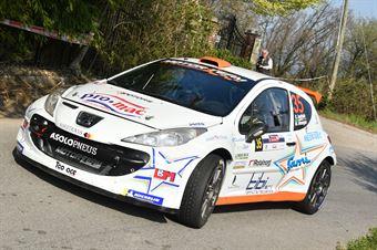 Rudy Andriolo, Manuel Menegon (Peugeot 207 S2000 #35, La Superba), CAMPIONATO ITALIANO WRC