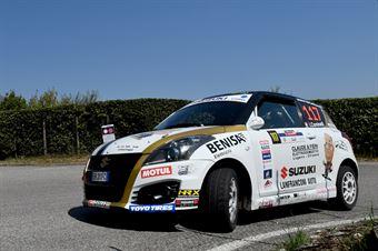 Ivan Cominelli, Igor Fieni (Suzuki Swift R1 #117), CAMPIONATO ITALIANO WRC